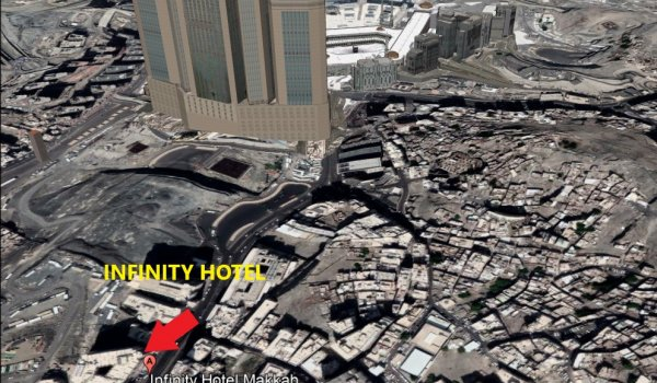 infinity hotel mekke